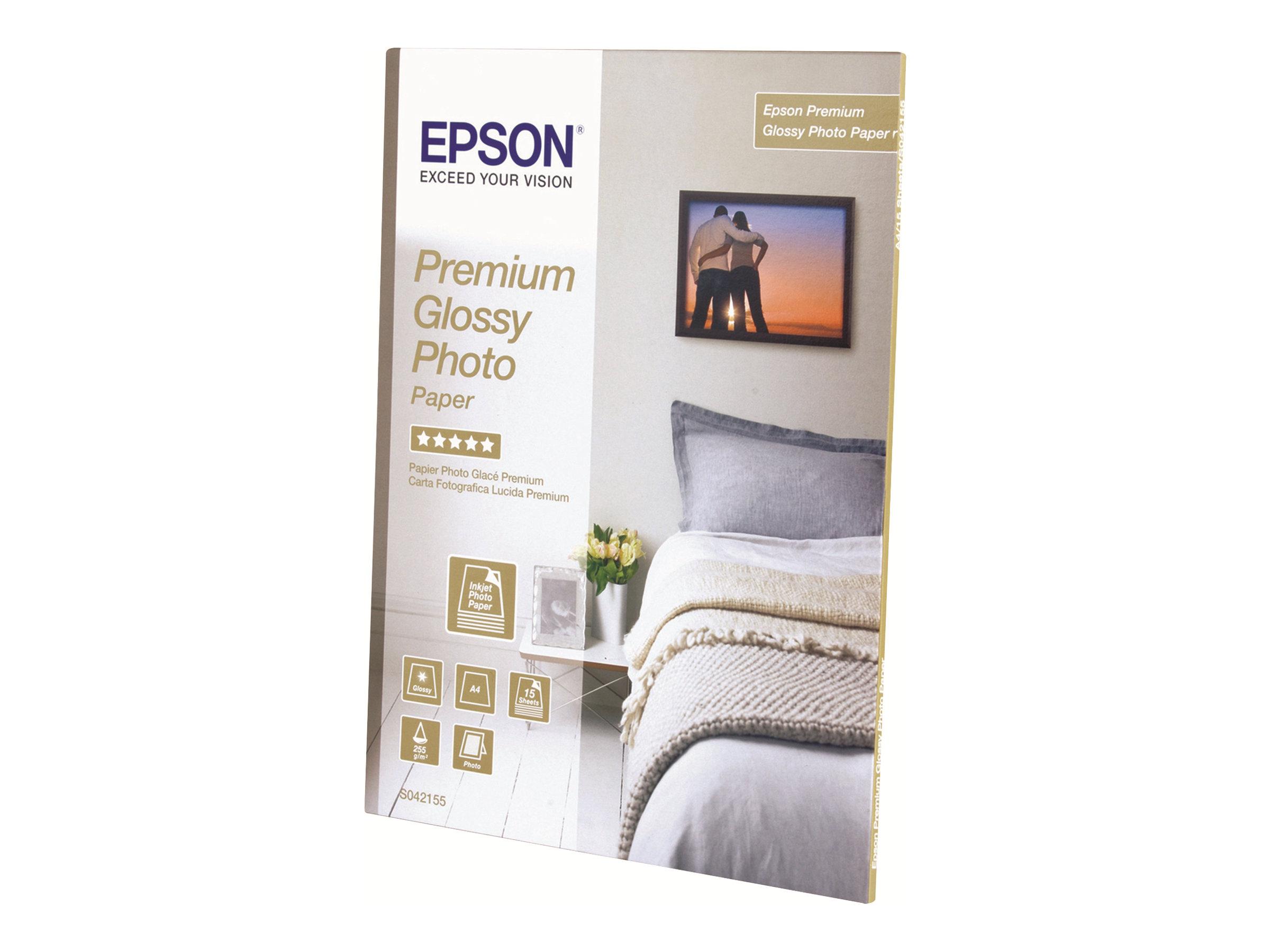 Epson Premium Glossy Photo Paper - Glänzend - harzbeschichtet - Rolle (111,8 cm x 30,5 m) - 165 g/m² - 1 Rolle(n) Fotopapier