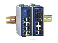 Moxa EtherDevice Switch EDS-P308-MM-SC-T - Switch - unmanaged - 6 x 10/100 + 2 x 100Base-FX - an DIN-Schiene montierbar