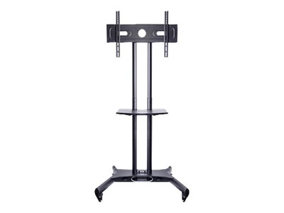 Multibrackets M Public Floorstand Basic - Aufstellung für Videokonferenzsystem - Schwarz - Bildschirmgrösse: 81.3-152.4 cm (32