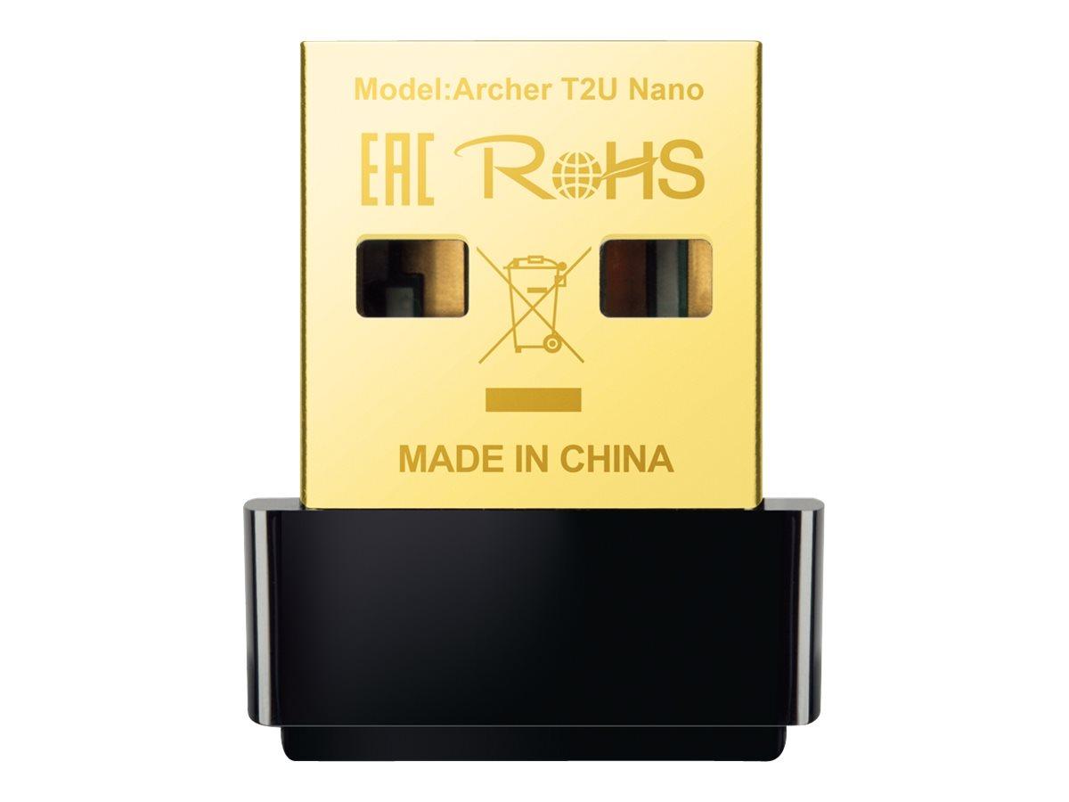 TP-Link Archer T2U Nano - Netzwerkadapter - USB 2.0 - 802.11ac