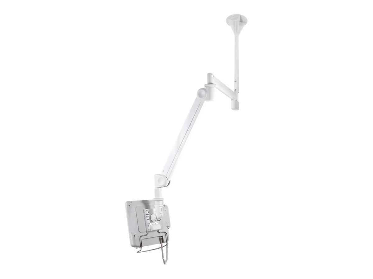 NewStar Medical Monitor Ceiling Mount (Full Motion gas spring) FPMA-HAC100 - Deckenhalterung für LCD-Display - medizinisch - Gra