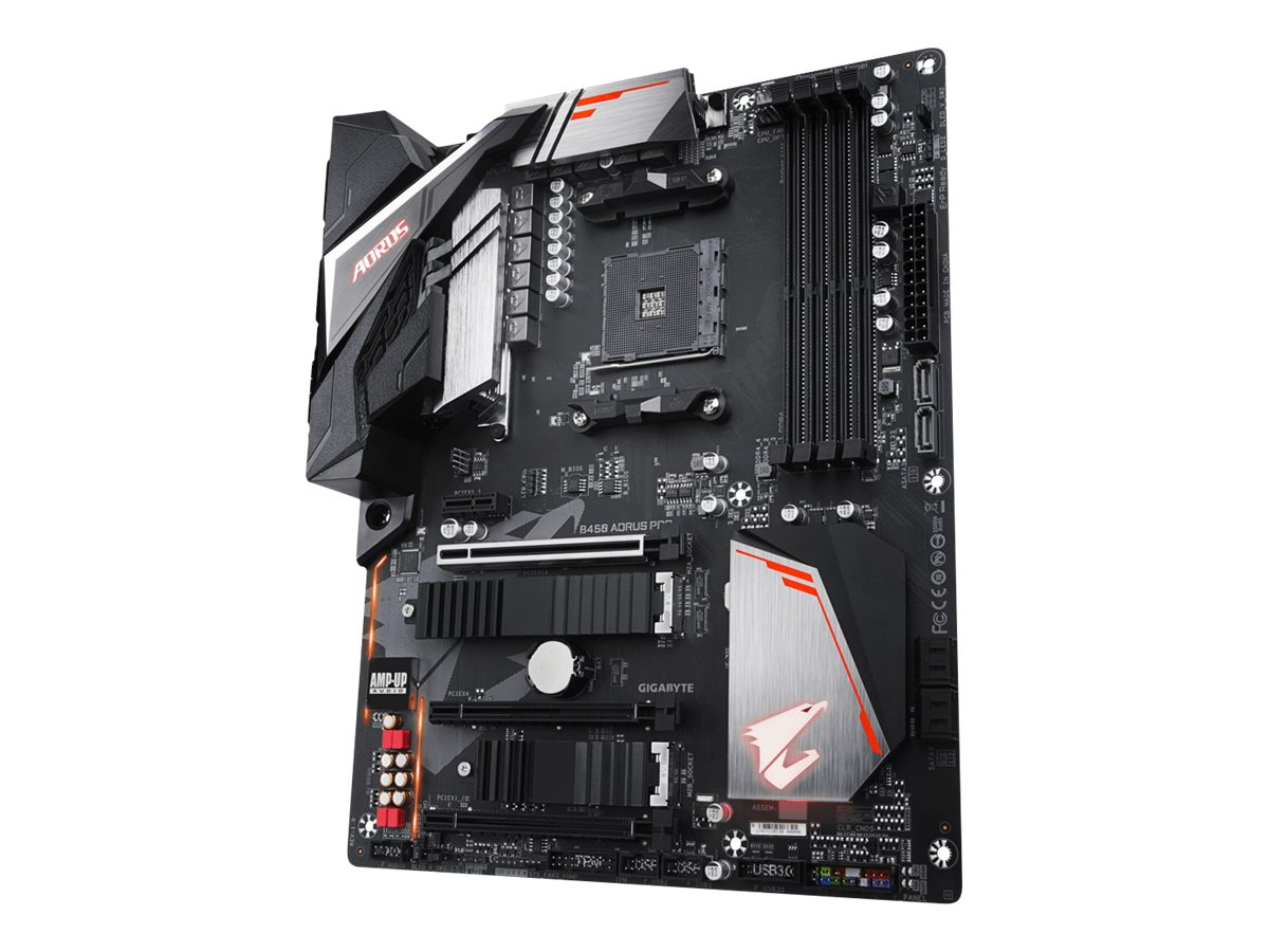 Gigabyte B450 AORUS PRO - 1.0 - Motherboard - ATX - Socket AM4 - AMD B450
