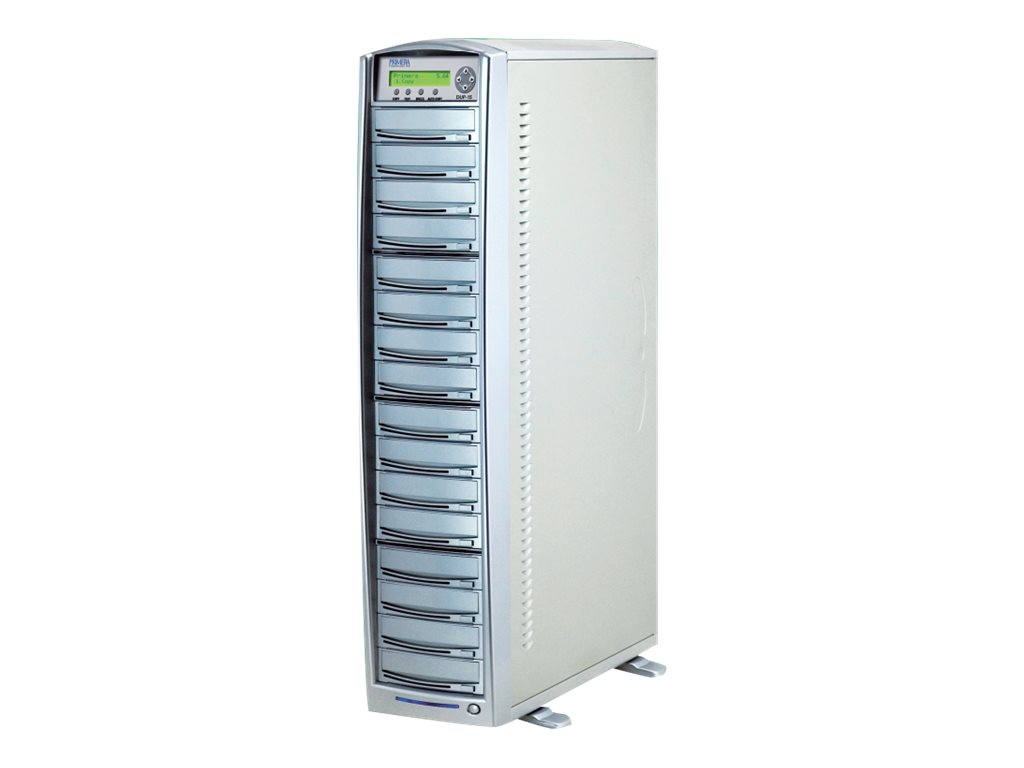 Primera DUP-15 - Disk-Kopiergerät - DVD±RW (+R Double Layer) x 15, DVD-ROM x 1 - extern - Schwarz