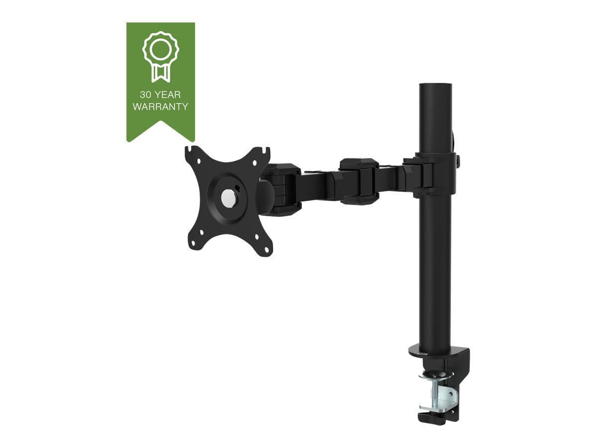Vision - Tischhalterung für LCD-Display (einstellbarer Arm) - Stahl - Schwarz - Bildschirmgrösse: 25.4-86.4 cm (10