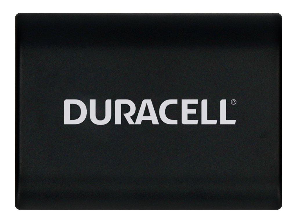 Duracell DRC2L - Batterie - Li-Ion - 650 mAh - für Canon MVX300, MVX330, MVX350, MVX40, MVX45, ZR100, ZR400, ZR500, ZR800, ZR830