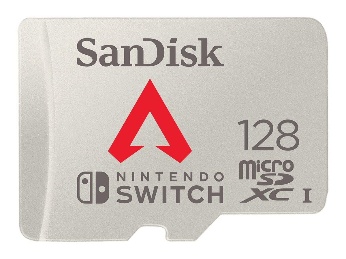 SanDisk - Flash-Speicherkarte - 128 GB - microSDXC UHS-I - für Nintendo Switch, Nintendo Switch Lite