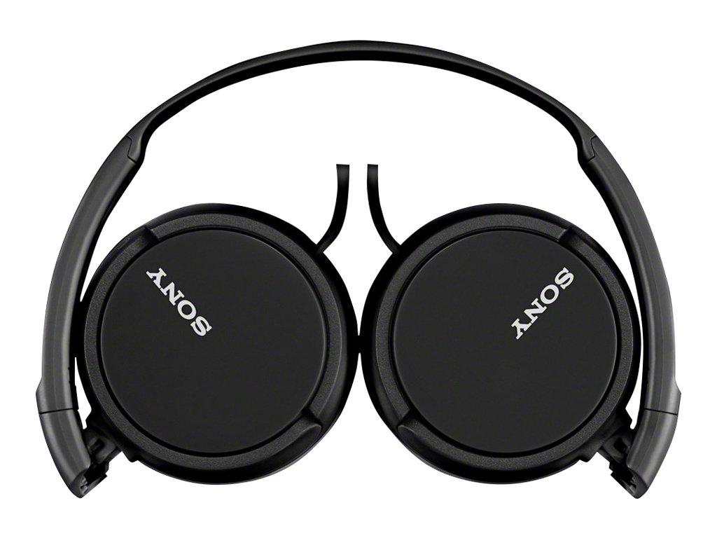 Sony MDR-ZX110 - Kopfhörer - Full-Size - kabelgebunden - 3,5 mm Stecker - Schwarz