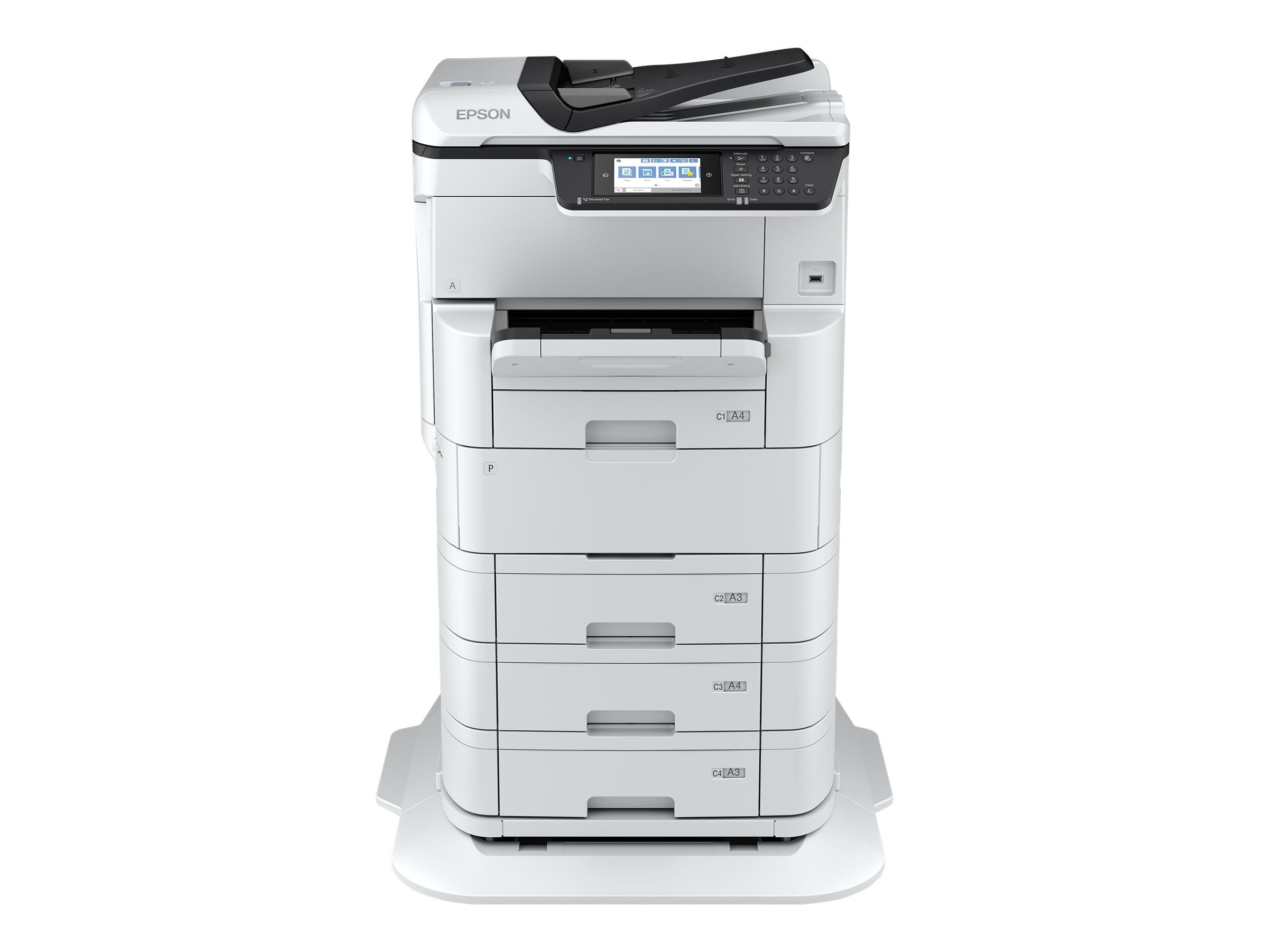 Epson WorkForce Pro WF-C878RD3TWFC - Multifunktionsdrucker - Farbe - Tintenstrahl - A3 (297 x 420 mm) (Original) - A3 (Medien)