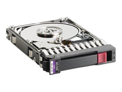 [Wiederaufbereitet] HPE Dual Port Enterprise - Festplatte - 300 GB - Hot-Swap - 2.5