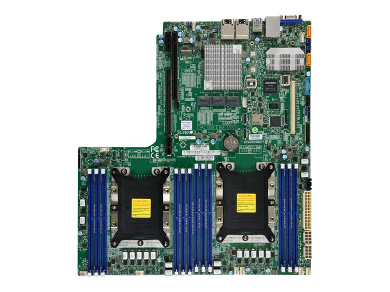 SUPERMICRO X11DDW-NT - Motherboard - Socket P - 2 Unterstützte CPUs - C622 - USB 3.0