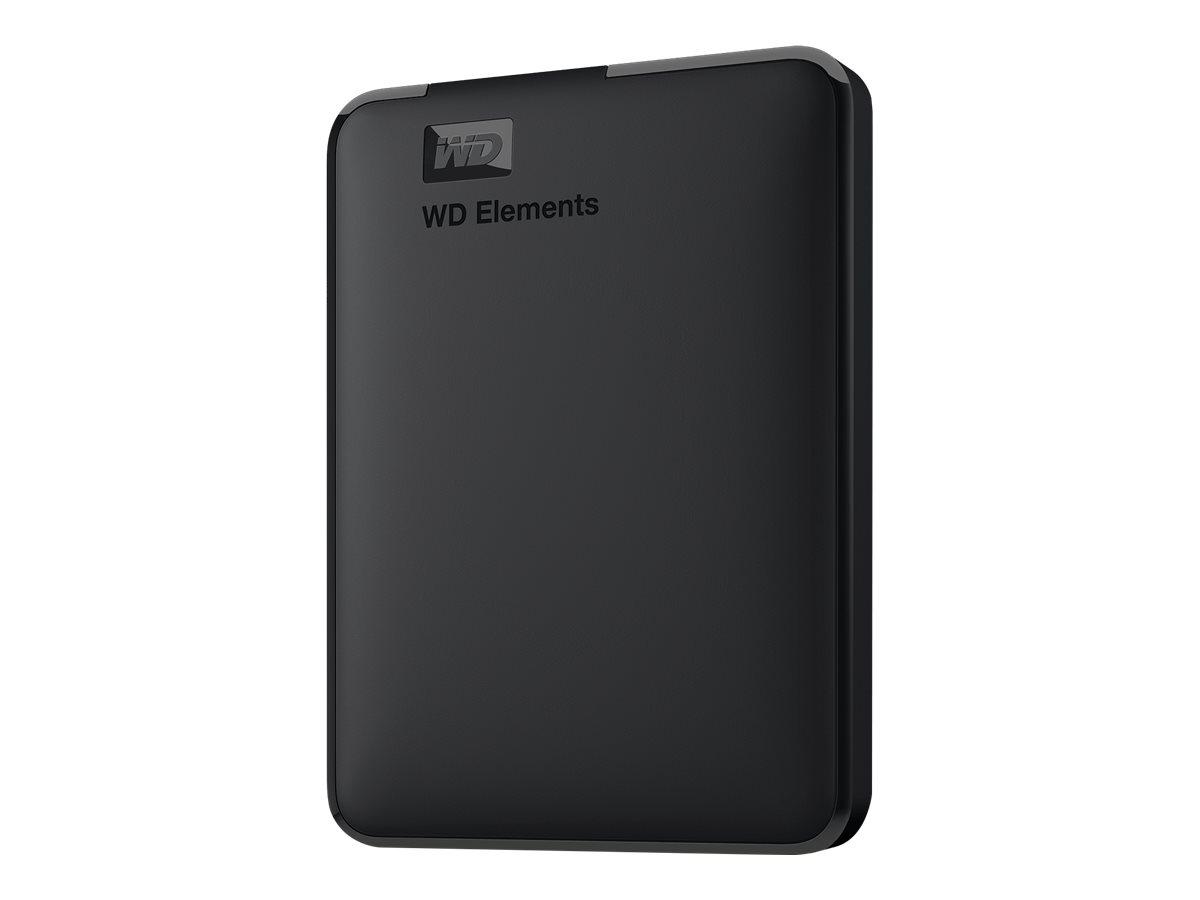 WD Elements Portable WDBUZG7500ABK - Festplatte - 750 GB - extern (tragbar) - USB 3.0
