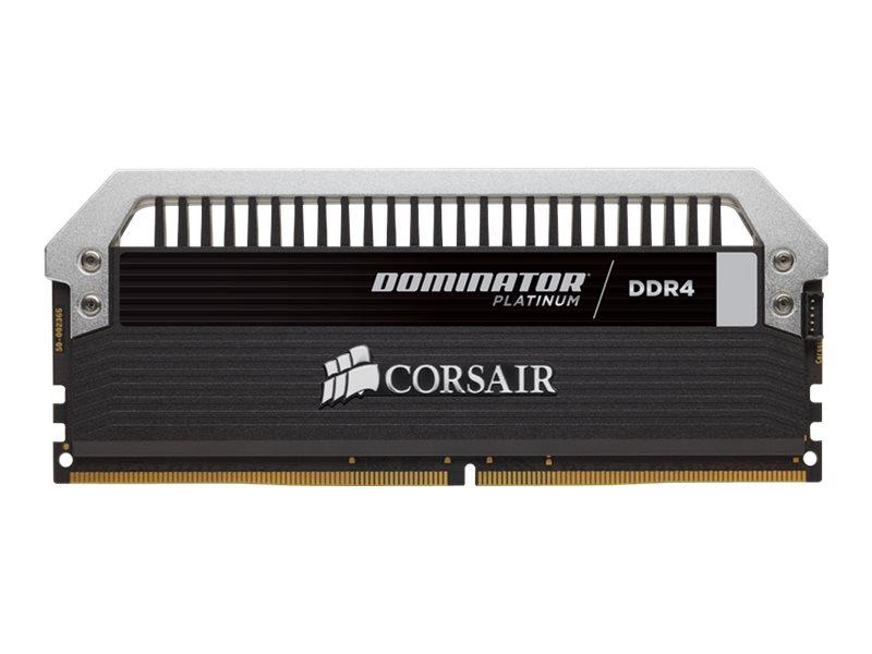 CORSAIR Dominator Platinum - DDR4 - 16 GB: 2 x 8 GB - DIMM 288-PIN - 3000 MHz / PC4-24000 - CL15