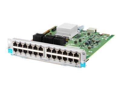 HPE - Erweiterungsmodul - Gigabit Ethernet x 24 - wieder auf den Markt gebracht - für HPE Aruba 5406R, 5406R 16, 5406R 44, 5406R