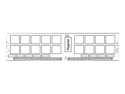 Samsung - DDR4 - Modul - 64 GB - LRDIMM 288-polig - 2400 MHz / PC4-19200