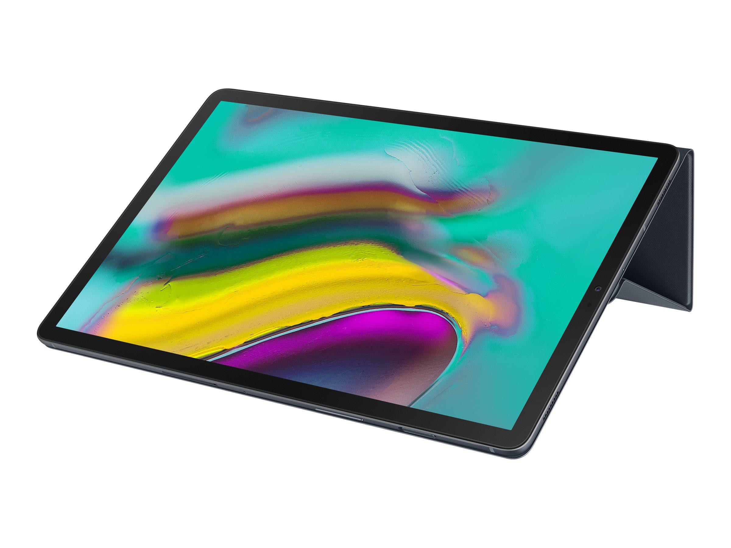 Samsung Book Cover EF-BT720 - Flip-Hülle für Tablet - Schwarz - für Galaxy Tab S5e