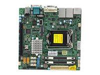 SUPERMICRO X11SSV-Q - Motherboard - Mini-ITX - LGA1151 Socket - Q170 - USB 3.0
