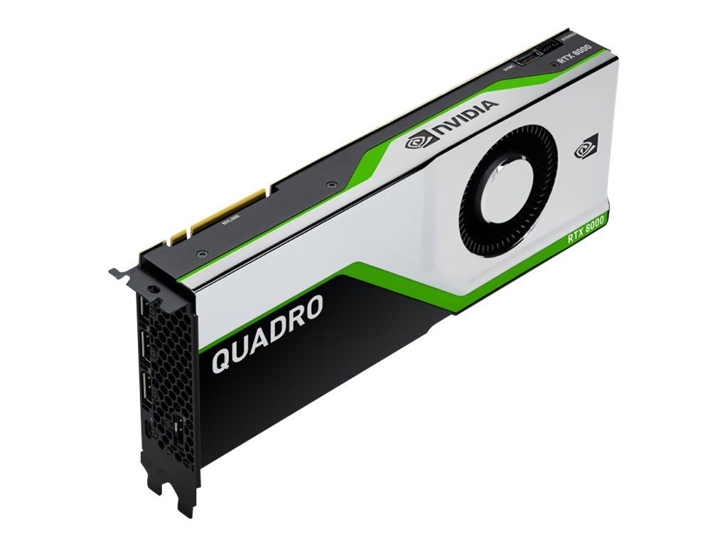 NVIDIA Quadro RTX 8000 - Grafikkarten - Quadro RTX 8000 - 48 GB GDDR6 - PCIe 3.0 x16 - 4 x DisplayPort, USB-C