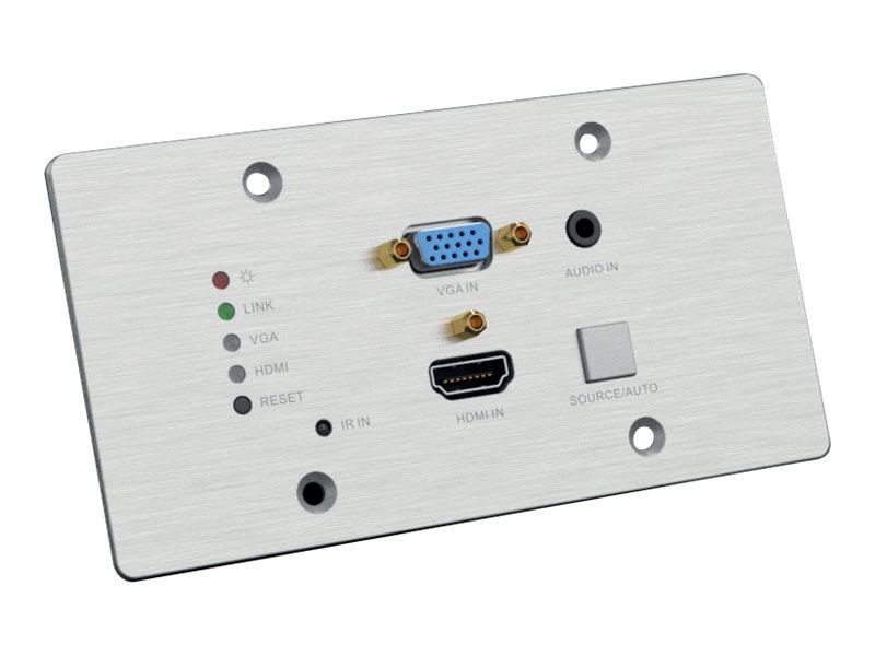 PureLink PureTools PT-HDBT-701-TXWP HDBaseT Wall Plate Transmitter - Erweiterung für Video/Audio - HDMI, HDBaseT - bis zu 70 m