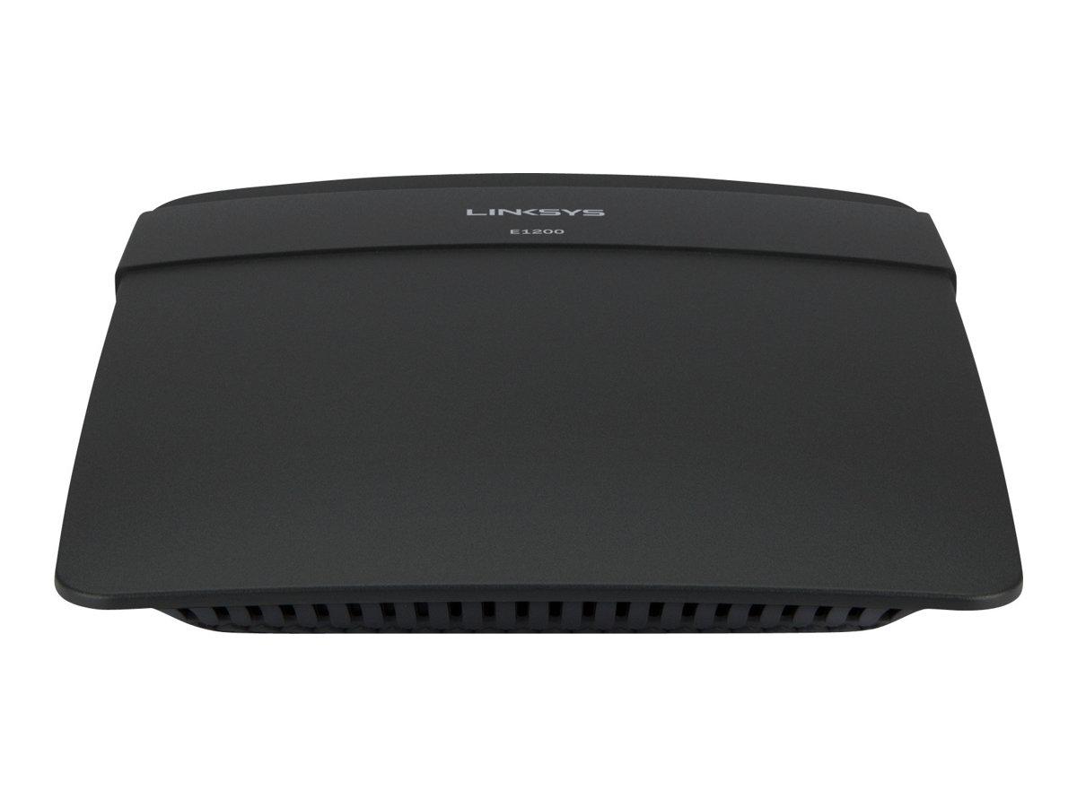 Linksys E1200 - Wireless Router - 4-Port-Switch - 802.11b/g/n - 2,4 GHz