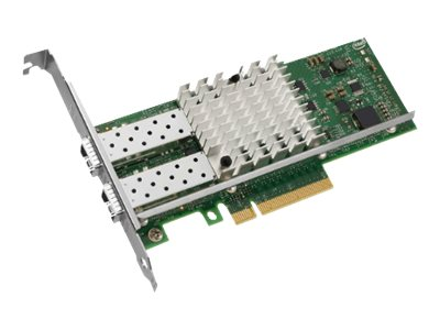 Intel Ethernet Converged Network Adapter X520 - Netzwerkadapter - PCIe 2.0 x8 Low-Profile - 10 GigE - 2 Anschlüsse