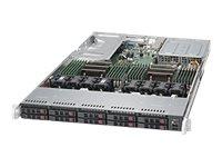 Supermicro SuperServer 1028U-TR4T+ - Server - Rack-Montage - 1U - zweiweg - RAM 0 MB