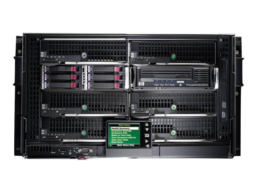 HPE BLc3000 Enclosure - Rack - einbaufähig - 6U - Stromversorgung Hot-Plug - für ProLiant BL465c G6, BL495c G6, WS460c G6; Stora