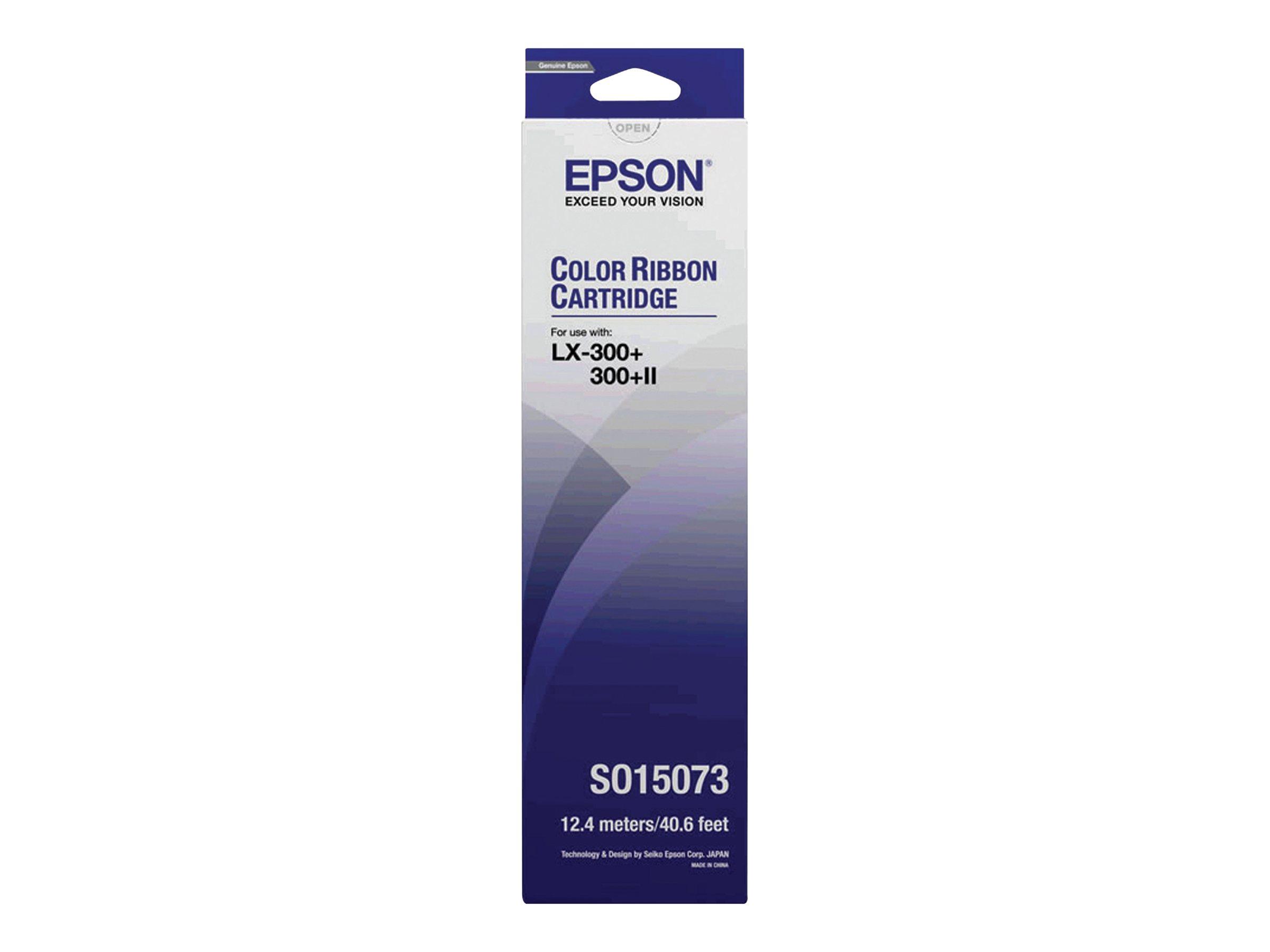 Epson - 1 - Gelb, Cyan, Magenta - Textilband - für LX 300, 300+, 300+II, 300+II Colour