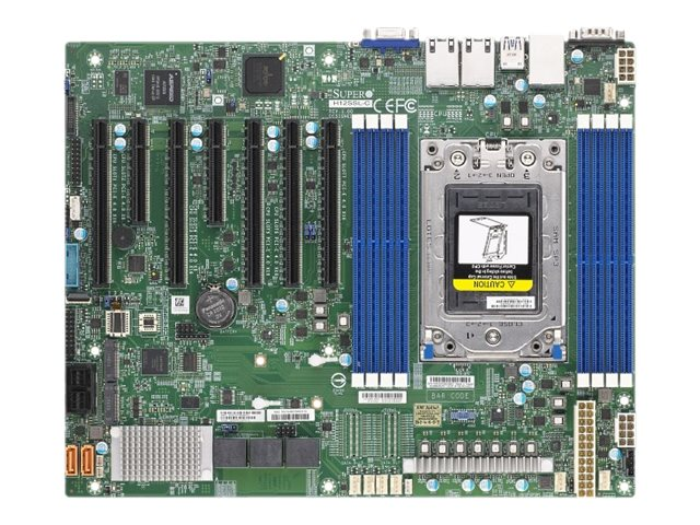 SUPERMICRO H12SSL-C - Motherboard - ATX - Socket SP3 - USB 3.0 - 2 x Gigabit LAN