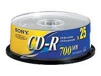 Sony - 25 x CD-R - 700 MB (80 Min)