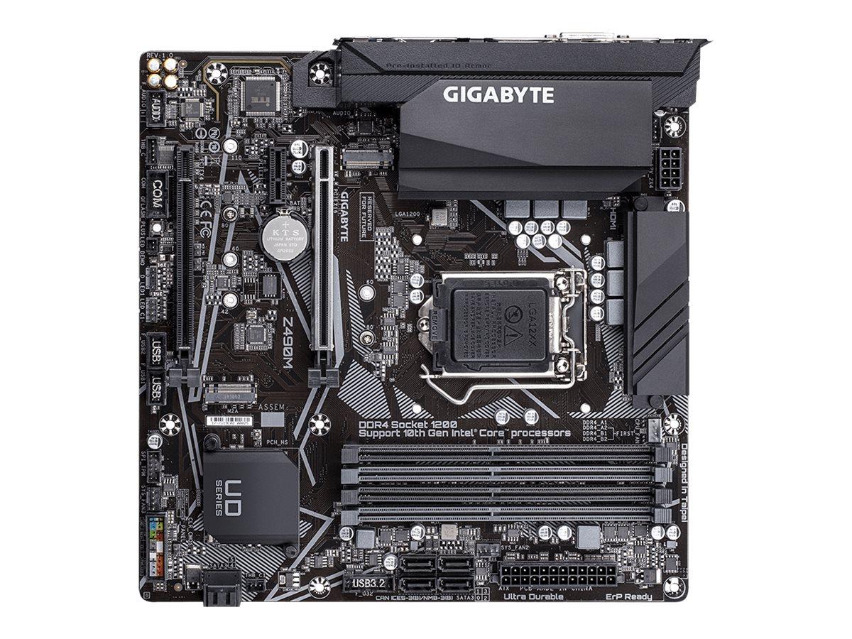 Gigabyte Z490M - 1.0 - Motherboard - micro ATX - LGA1200-Sockel - Z490
