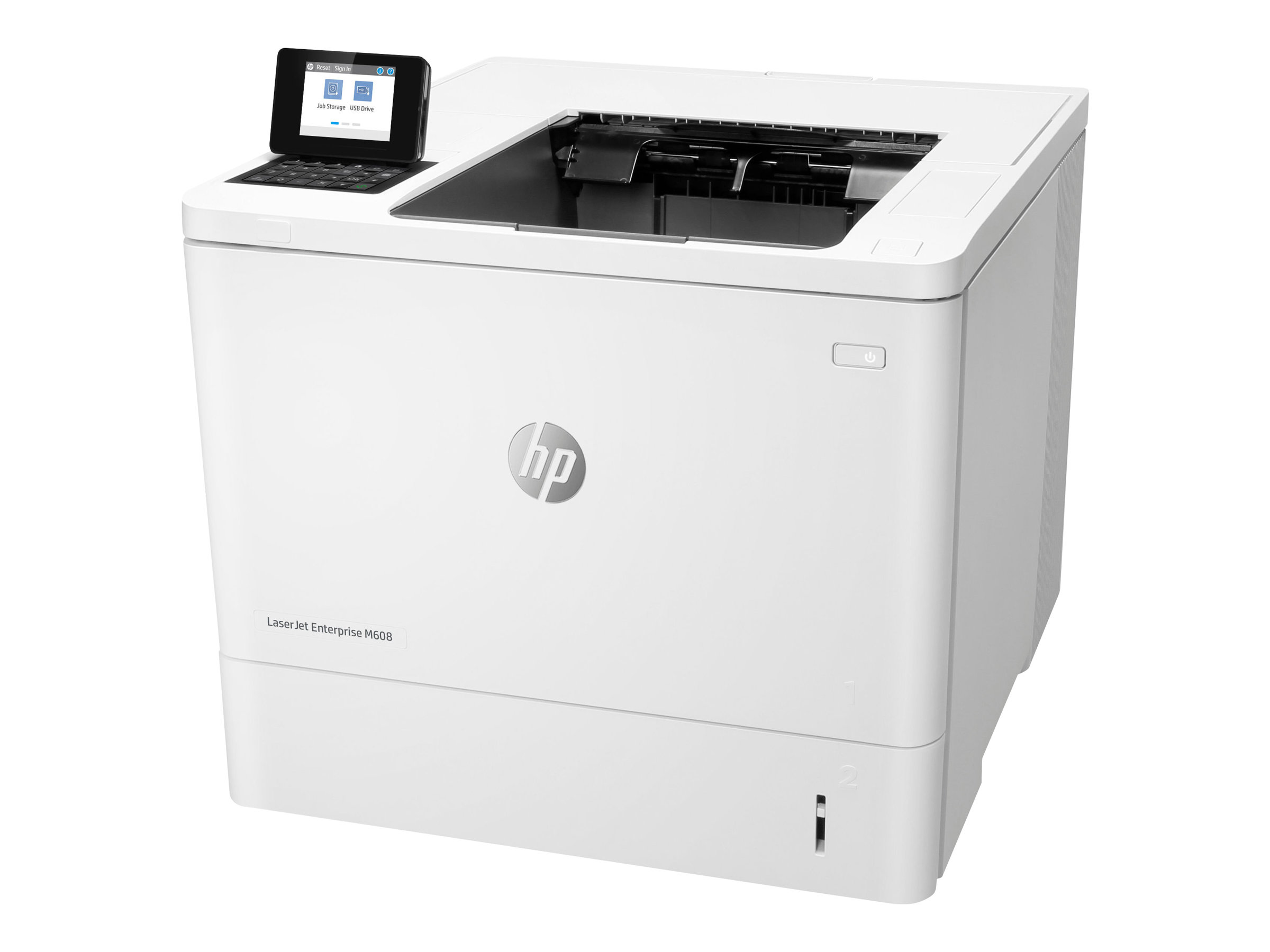 HP LaserJet Enterprise M608n - Drucker - monochrom - Laser - A4/Legal - 1200 x 1200 dpi