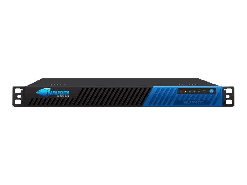 Barracuda SSL VPN 280 - VPN-Gateway - GigE - 1U - Rack-montierbar