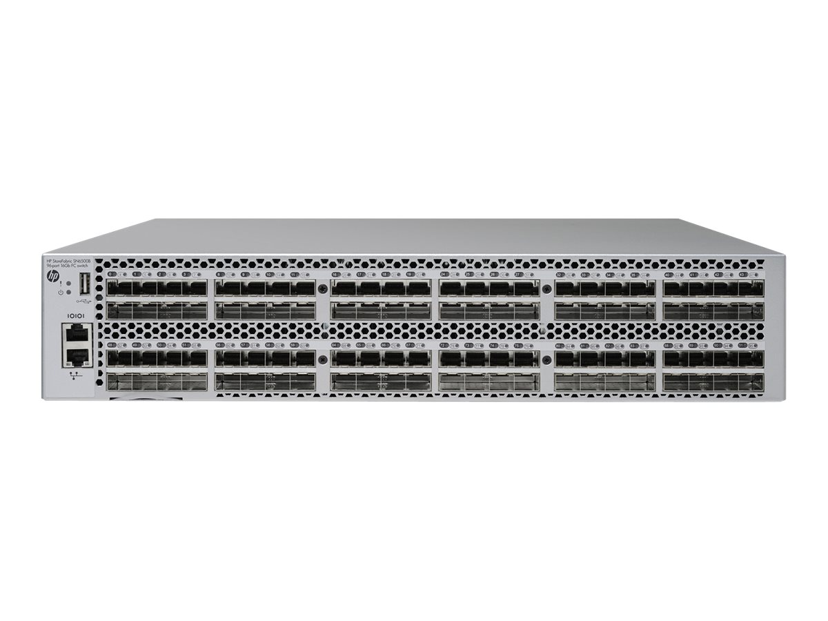HPE StoreFabric SN6500B 16Gb 96-port/48-port Active Fibre Channel Switch - Switch - managed - 48 x 16Gb Fibre Channel SFP+ - an