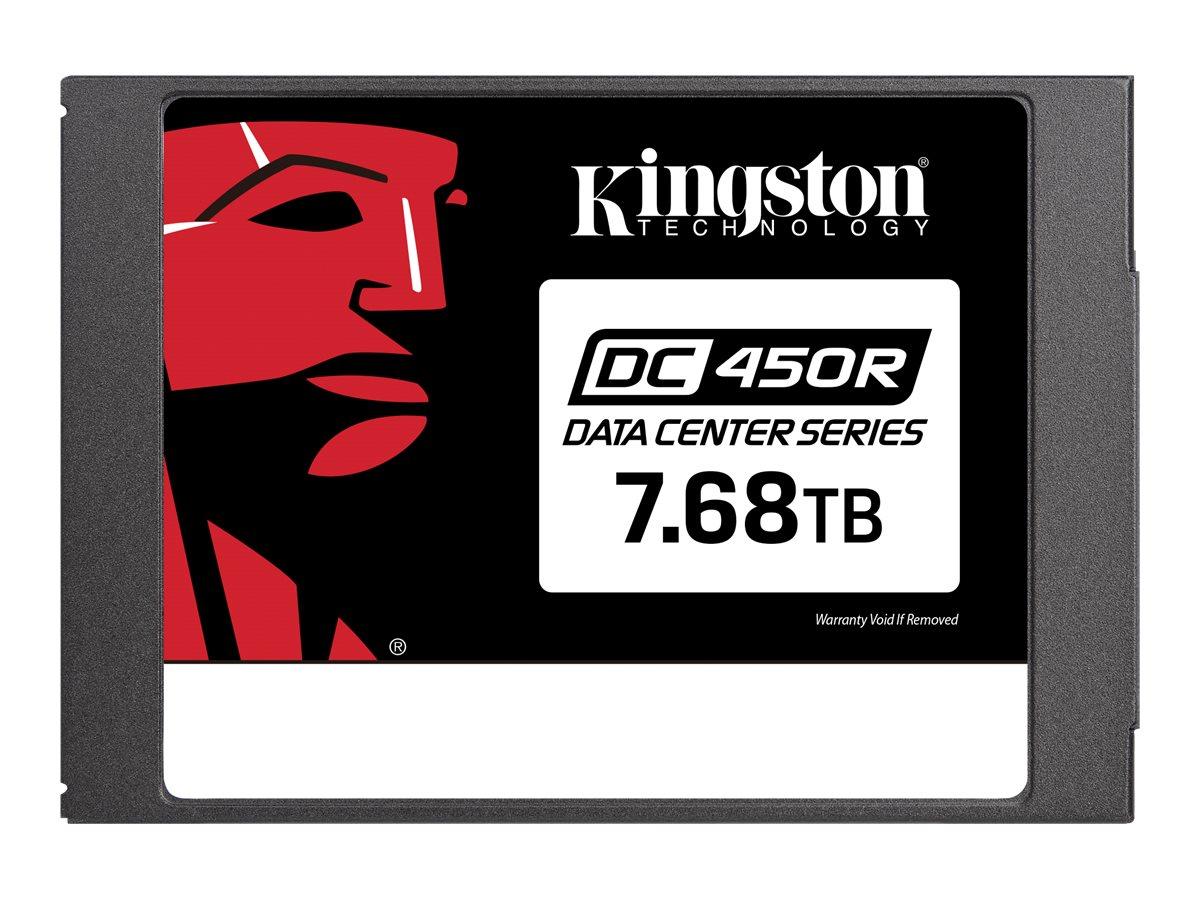 Kingston Data Center DC450R - Solid-State-Disk - verschlüsselt - 7.68 TB - intern - 2.5