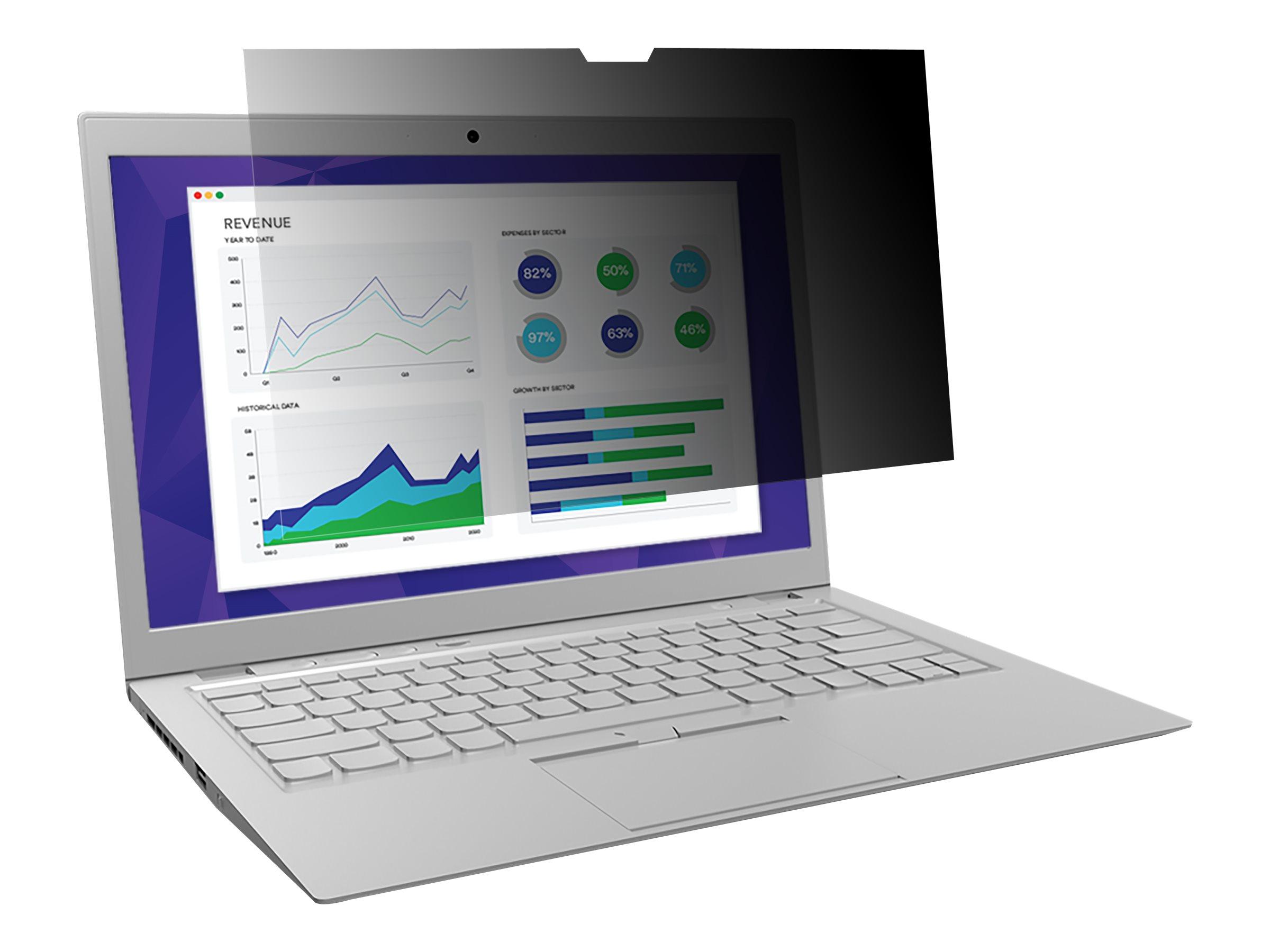 3M Blickschutzfilter - Blickschutzfilter für Notebook - entfernbar - 35.6 cm (14
