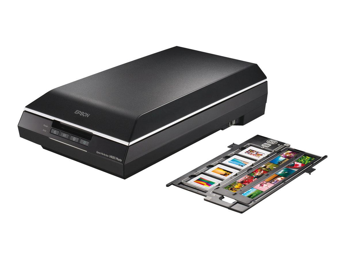 Epson Perfection V600 Photo - Flachbettscanner - A4/Letter - 6400 dpi x 9600 dpi - USB 2.0