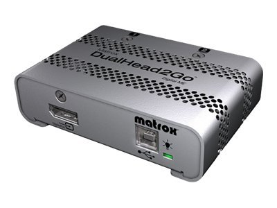 Matrox Graphics eXpansion Module DualHead2Go - Digital ME - Videokonverter - DisplayPort - 2 x DVI
