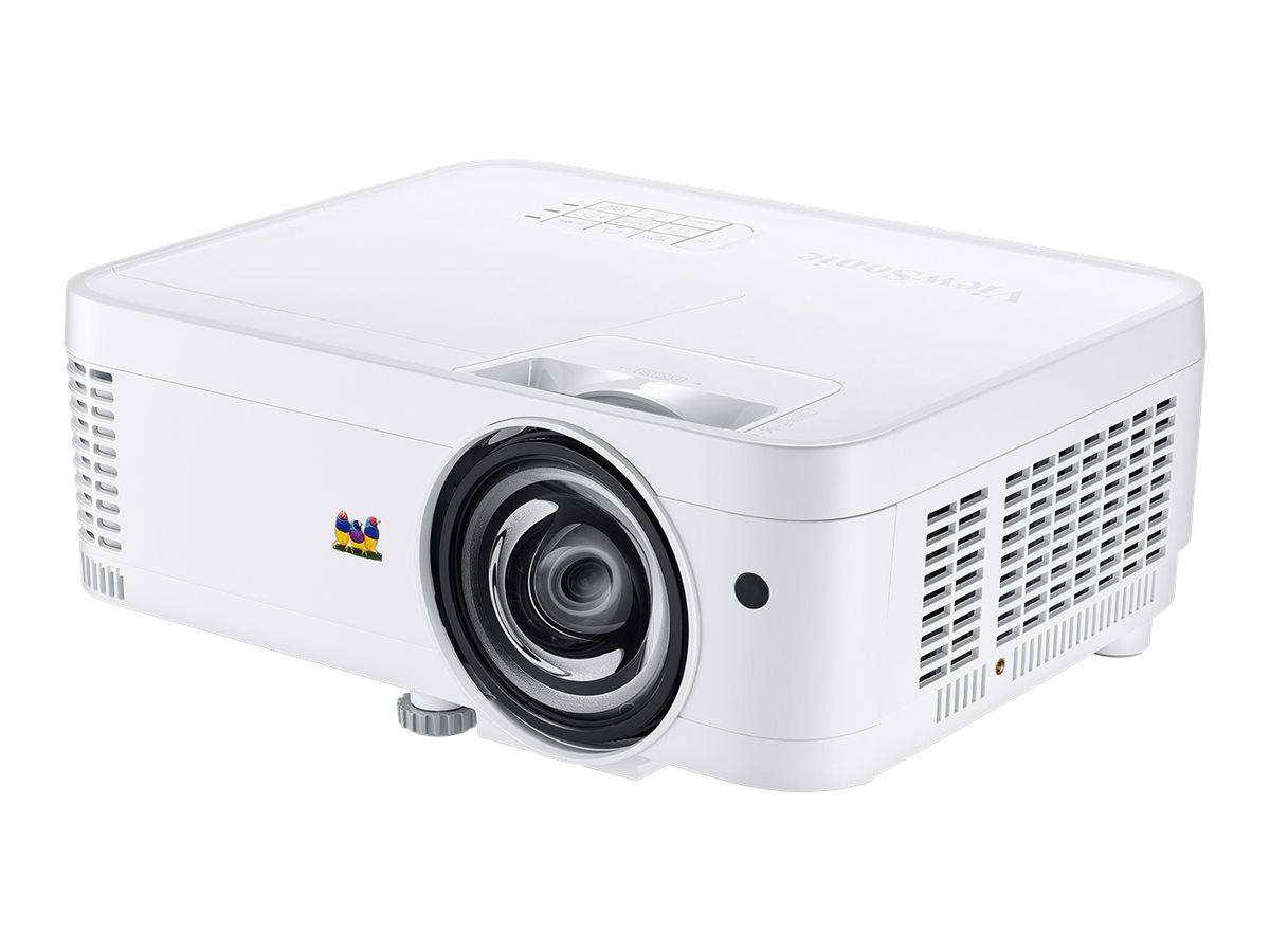 ViewSonic PS600W - DLP-Projektor - 3D - 3500 ANSI-Lumen - WXGA (1280 x 800) - 16:10