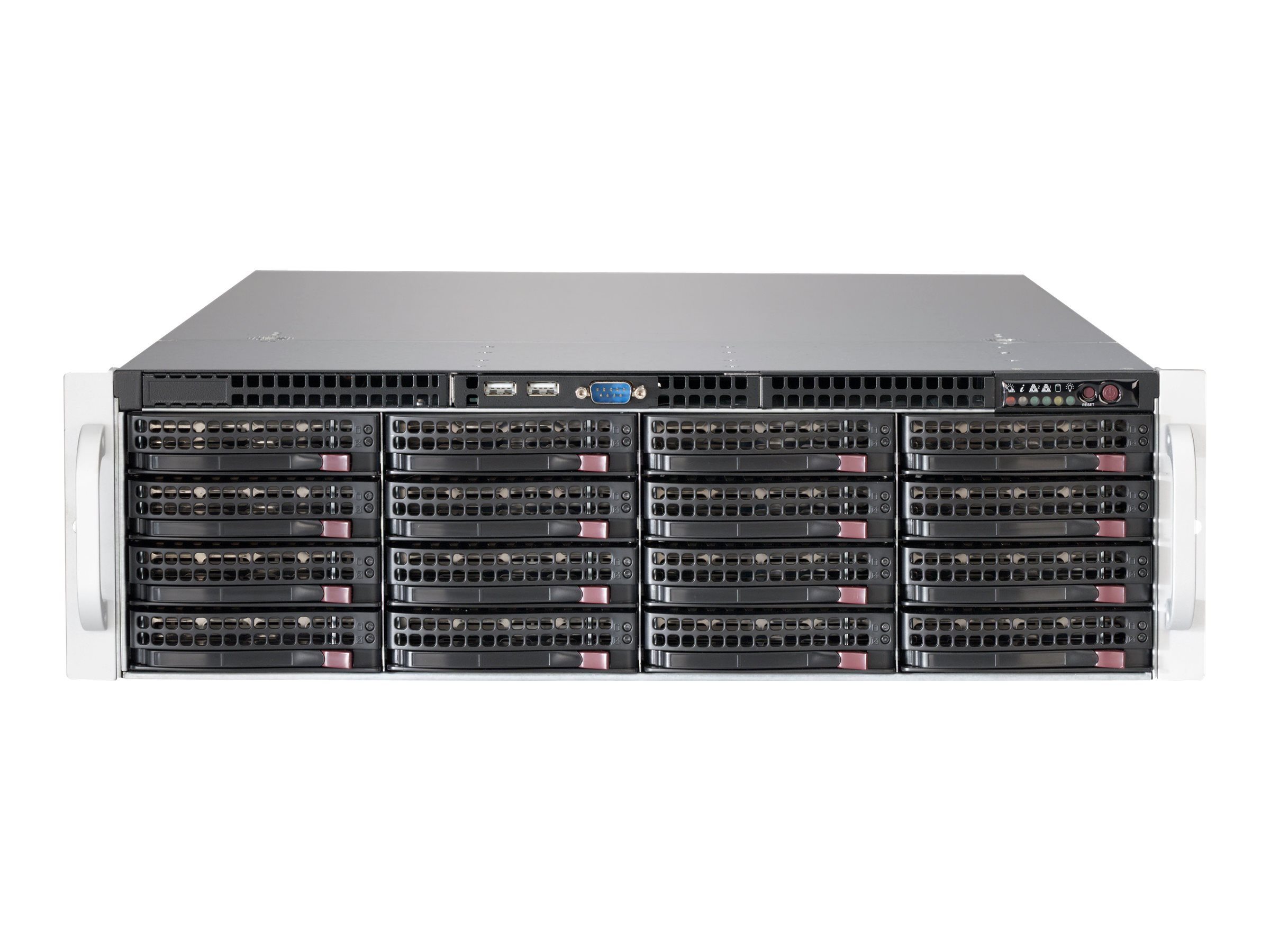 Supermicro SC836 BE2C-R1K03JBOD - Rack - einbaufähig - 3U - SATA/SAS - Hot-Swap 1000 Watt