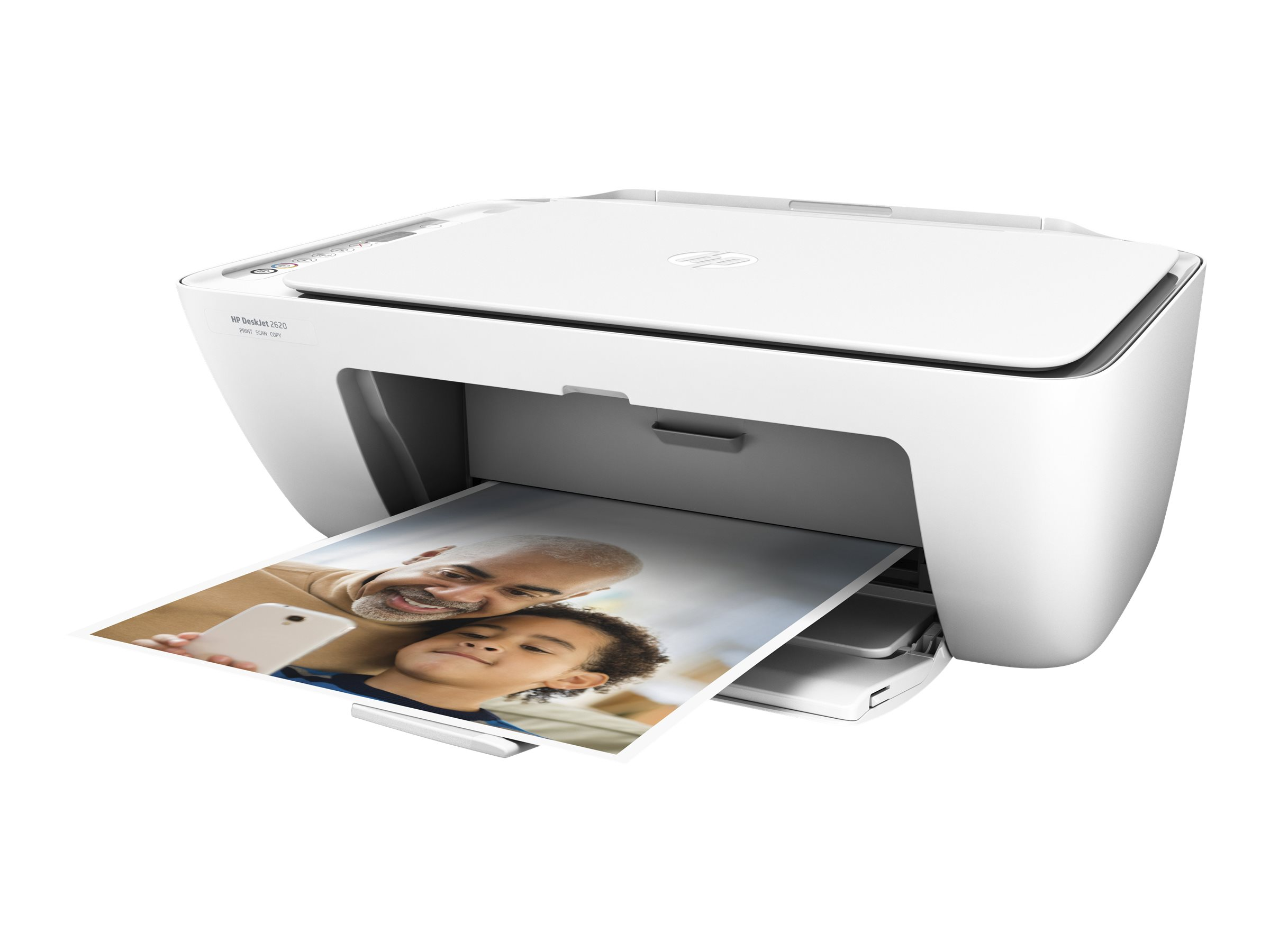 HP Deskjet 2620 All-in-One - Multifunktionsdrucker - Farbe - Tintenstrahl - 216 x 297 mm (Original) - A4/Legal (Medien)