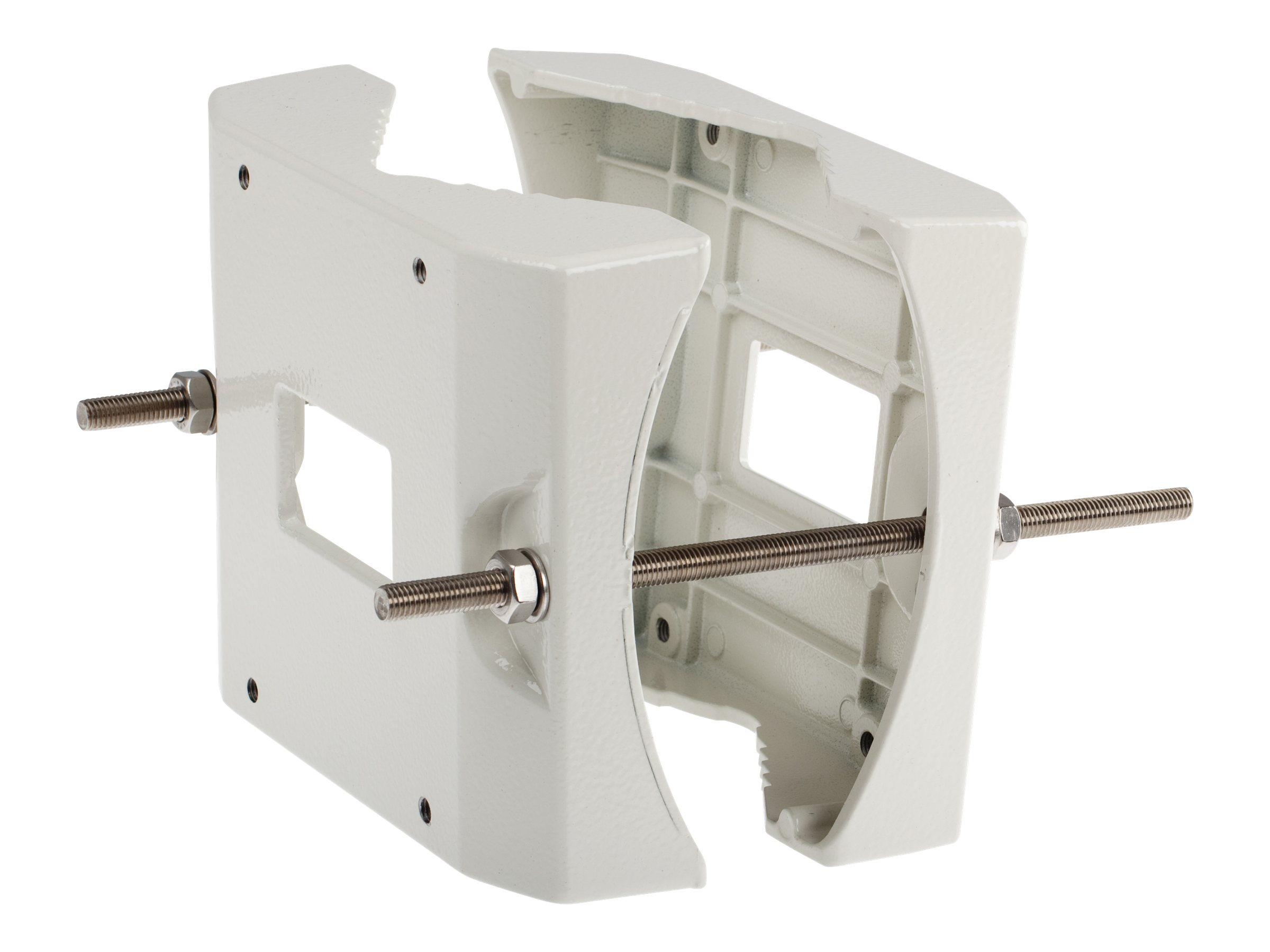 AXIS T95A67 - Montagehalterung für Kameragehäuse - Pfosten montierbar - für AXIS T95A00 Dome Housing, T95A10 Dome Housing