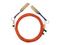 Mellanox LinkX - 25GBase-AOC Direktanschlusskabel - SFP28 bis SFP28 - 10 m - Glasfaser - SFF-8665/OM2