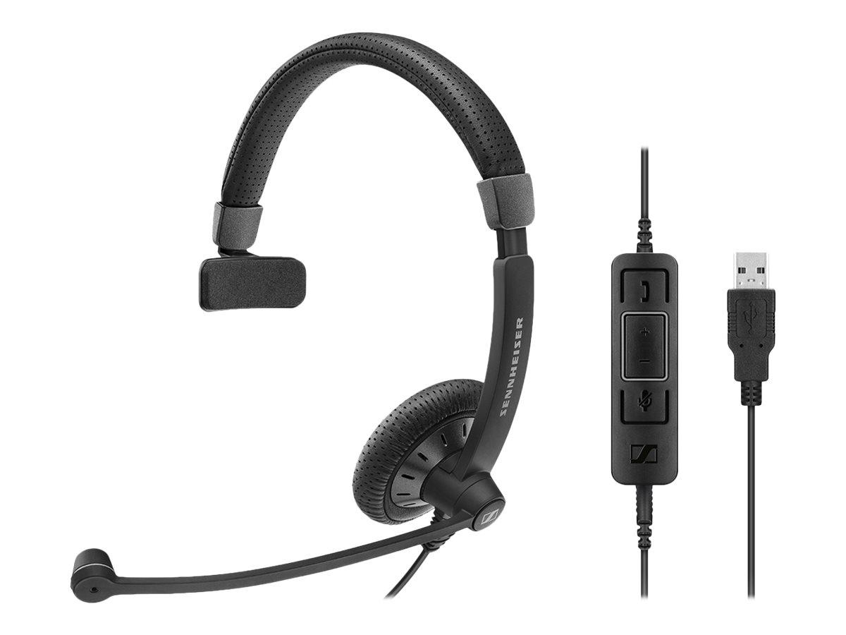 Sennheiser SC 45 USB CTRL - Culture Plus Mobile - Headset - On-Ear - kabelgebunden - Schwarz