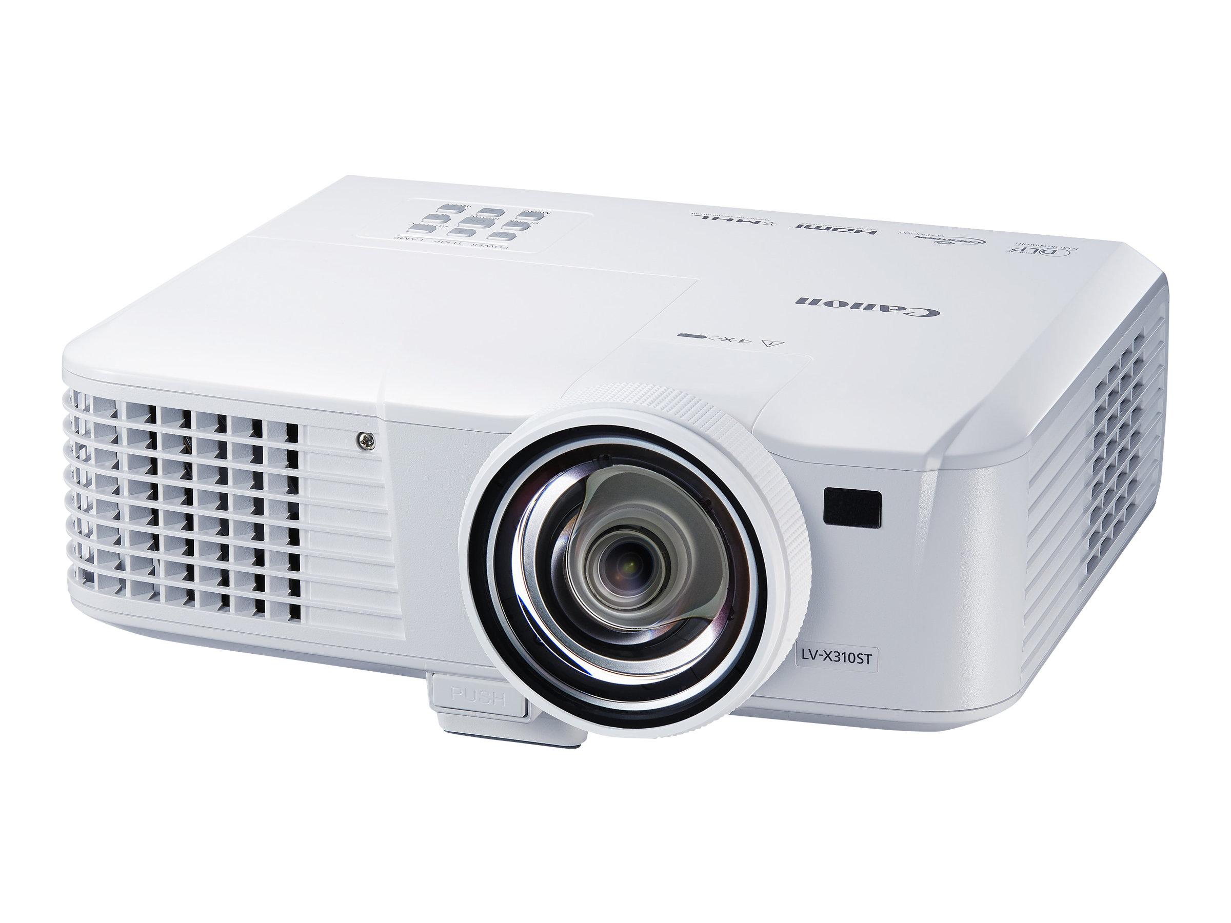 Canon LV-WX310ST - DLP-Projektor - super ultra-Hochdruck Quecksilber - tragbar - 3100 lm - WXGA (1280 x 800)