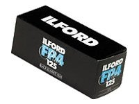 Ilford FP4 Plus - Schwarz-Weiss-Negativfilm - 120 (6 cm) - ISO 125