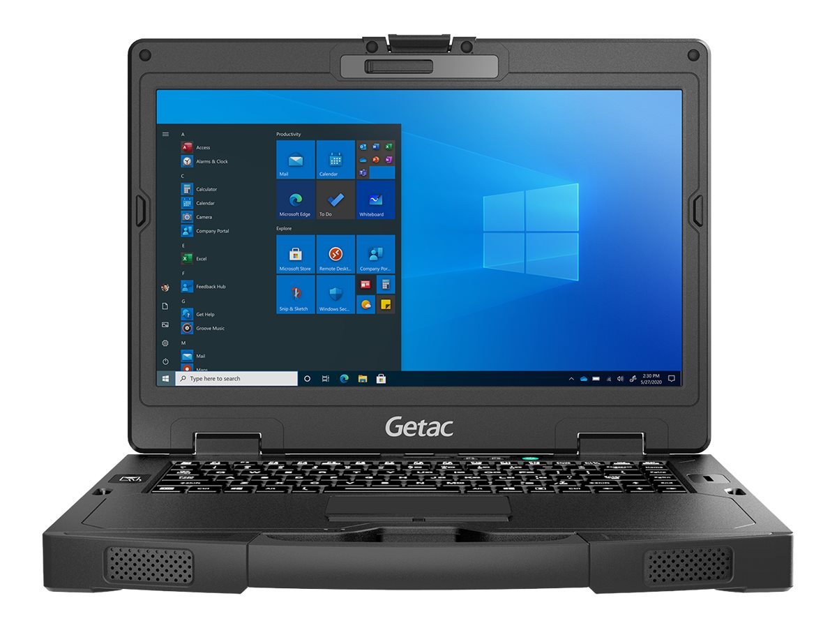 Getac S410 G4 Basic - Robust - Core i5 1135G7 / 2.4 GHz - Win 10 Pro - 8 GB RAM - 256 GB SSD NVMe