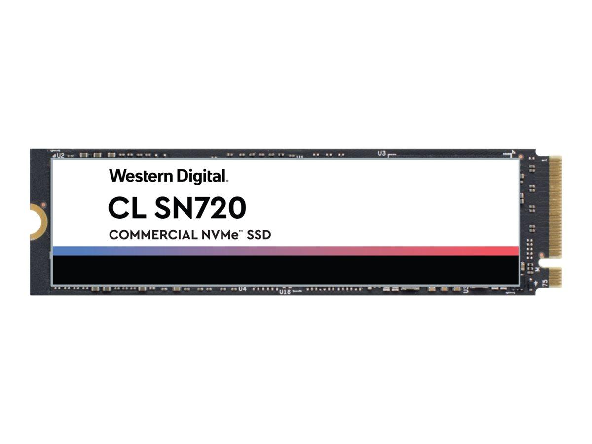 WD CL SN720 NVMe SSD SDAQNTW-512G-2000 - Solid-State-Disk - verschlüsselt - 512 GB - intern - M.2 2280