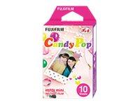 Fujifilm Instax Mini Candy Pop - Instant-Farbfilm - ISO 800 - 10 Belichtungen