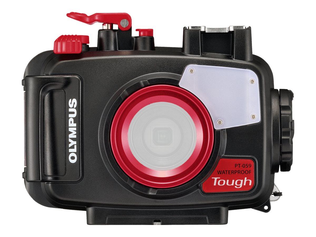 Olympus PT-059 - Unterwassergehäuse für Kamera - Polycarbonat - Schwarz, durchsichtig