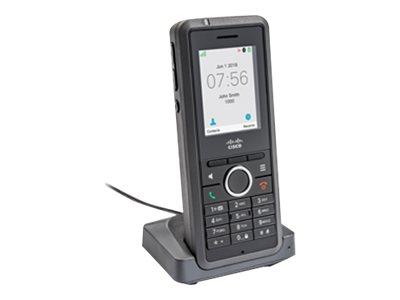 Cisco IP DECT Phone 6825 - Schnurloses Erweiterungshandgerät - mit Bluetooth-Schnittstelle - DECT - SIP - 2 Leitungen